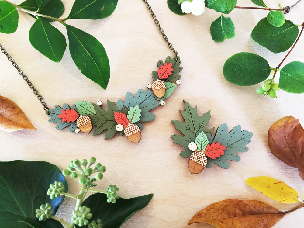 Autumn-Leaves-necklace-and-brooch