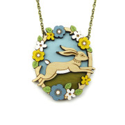 Jumping Hare Necklace Layla Amber