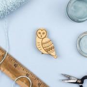 Owl brooch 2019_2