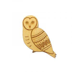 Owl brooch 2019_wb