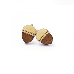 Acorn Earrings Layla Amber
