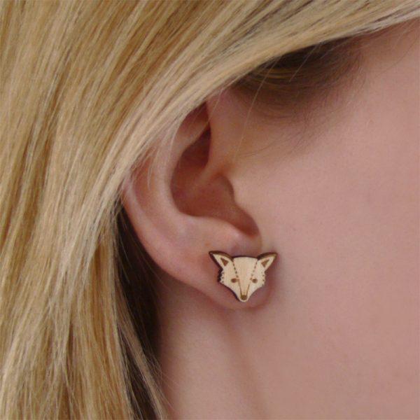 Fox Earrings Layla Amber