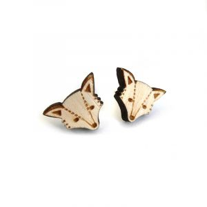 Fox Earrings Layla Amber