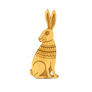 layla amber hare brooch