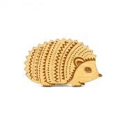 hedgehog brooch wb