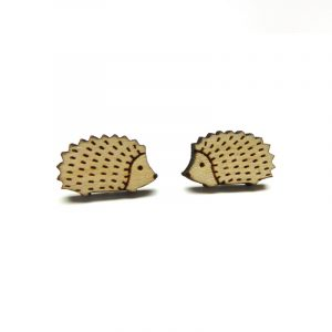 Hedgehog Earrings Layla Amber