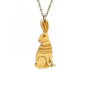 layla amber hare necklace