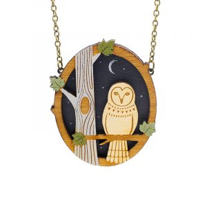night owl necklace wb