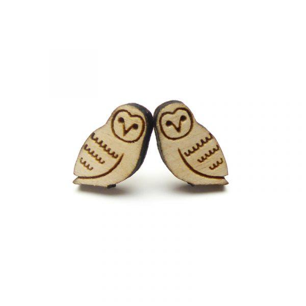 Owl Earrings Layla Amber