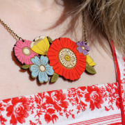 poppy-bouquet-necklace-wearing