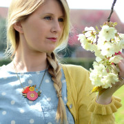 Poppy Posy Necklace Layla Amber