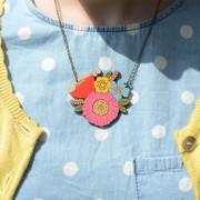 Poppy Posy Necklace Layla Amber