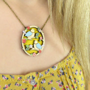 Two Little Birds Necklace Layla Amber