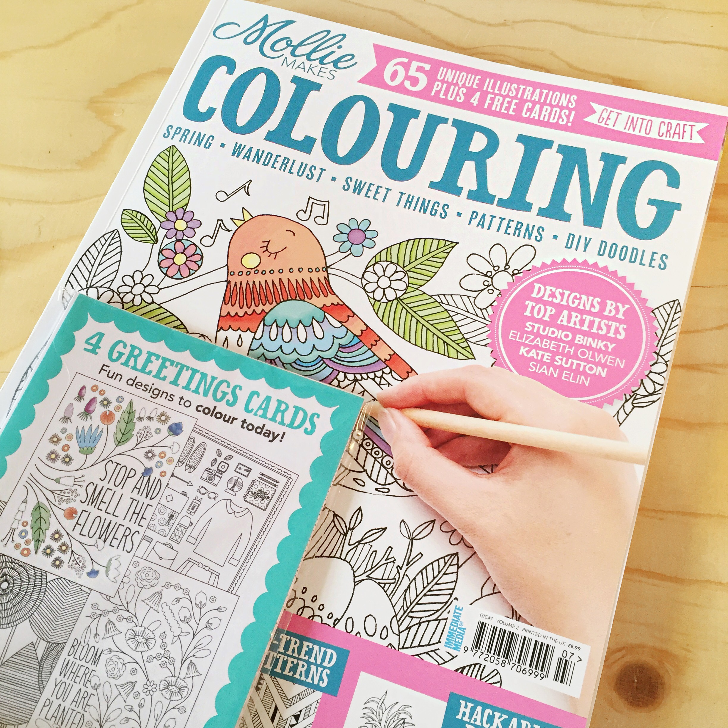 Mollie makes Colouring 2015 v2