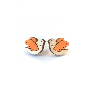 Orange-bird-earrings-layla-amber-white-background