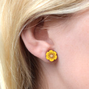 yellow-flower-earrings-wearing-shot