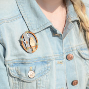 Night-Owl-Brooch-Layla-Amber-wearing-shot
