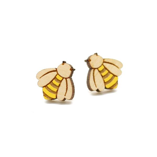 bee earrings by layla amber