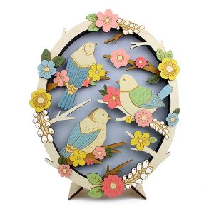Layla Amber 2018 - Birds in Springtime Wall Piece WB