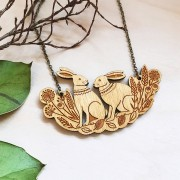 Spring hares necklace 3