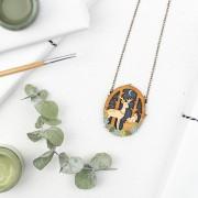 moonlit forest necklace