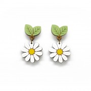 wild daisy drop earrings wb
