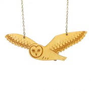 Flying owl necklace_wb