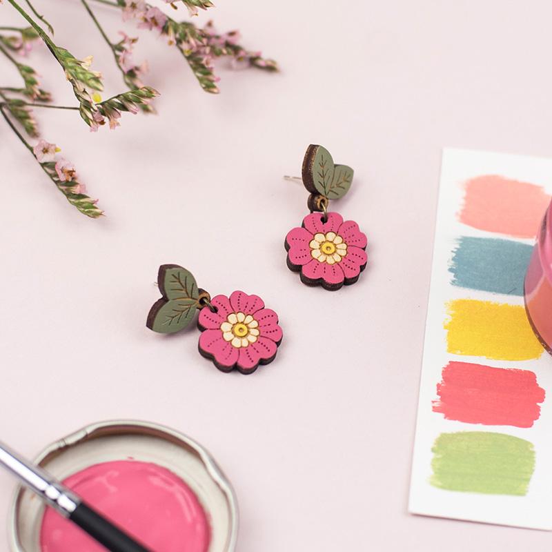 layla amber primrose earrings