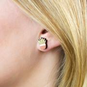 Pink Pot Earrings