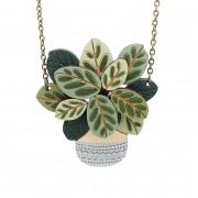 calathea necklace