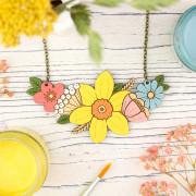 Daff bouquet necklace 2